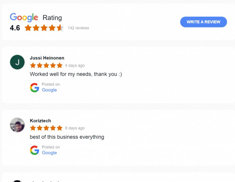 google-bewertungen-widget
