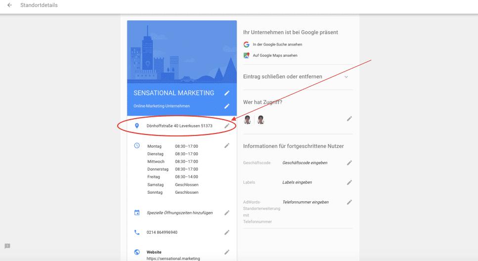 GoogleMyBusiness-Einzugsgebiet-ändern