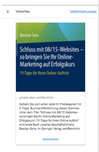 Google-my-business-Werbung Anleitung