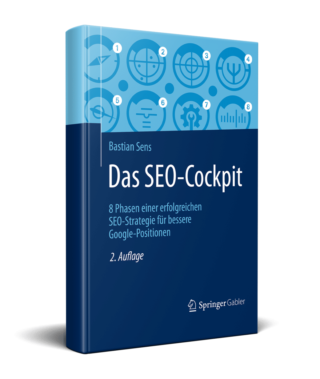 Buch SEO-Strategie SEO-Cockpit