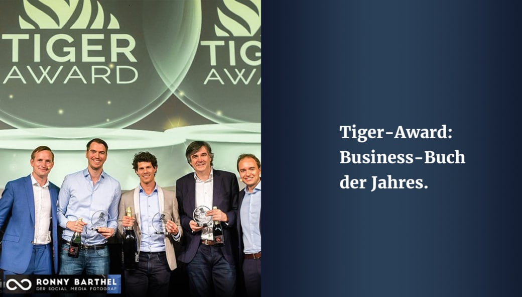 Tiger Award Business Buch des Jahres Das Online Marketing Cockpit