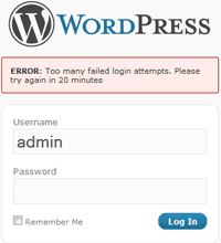 Wordpress Plugin Limit Login Attempts