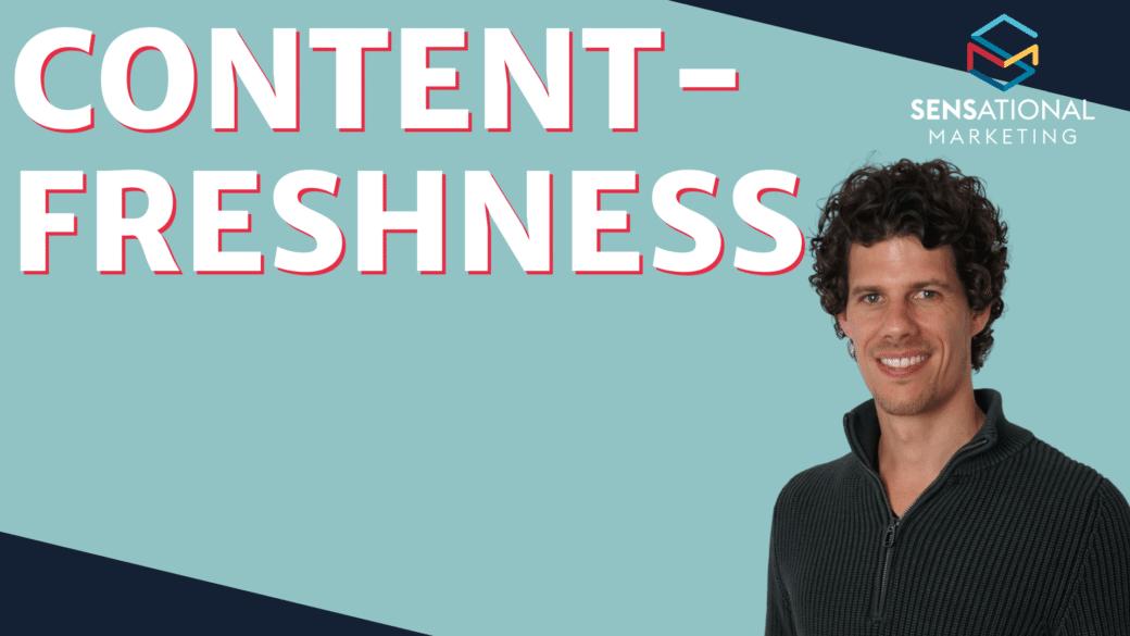 Content Freshness SEO