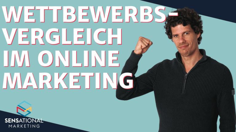 Online-Marketing Wettbewerbsvergleich